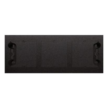 Aufputz- Gehäuse 3fach anthrazit matt Simon 54 Premium Kontakt Simon DPN3/48