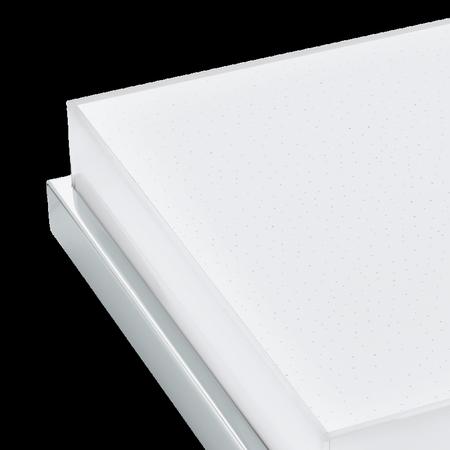 Aufputzlampe Deckenleuchte ISLETAS weiß, Chrom LED 23,5W 2600lm NW IP44 97971 EGLO