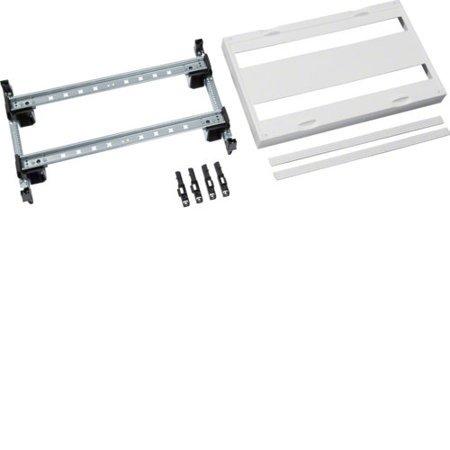 Baustein, universN, 300x500mm, für Reiheneinbaugeräte waagerecht, 2x26 PLE Hager