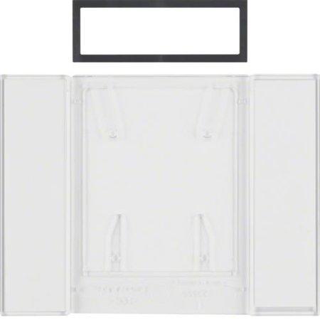 Beschriftungsfeld für B.IQ Tastsensoren 4fach B.IQ klar transparent Hager 75900081