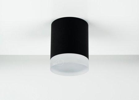 Deckenaufbauleuchte Deckenspot Aufbaustrahler ZIRA GU10 schwarz/ weiß IP20 EDO777340 EDO