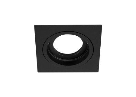 Deckeneinbauleuchte Deckenspot Einbaustrahler TULID SQ Black IP20 eckig schwarz EDO777326 EDO