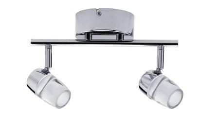 Deckenleuchte Bowl LED spot 2x3,2W 2700K Chrom