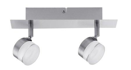 Deckenleuchte Slice LED spot 2x4,3W 3000K Rostfreier Stahl