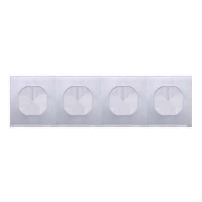 Dichtungsset IP44 für Rahmen 4fach Simon 54 Premium Kontakt Simon DU4