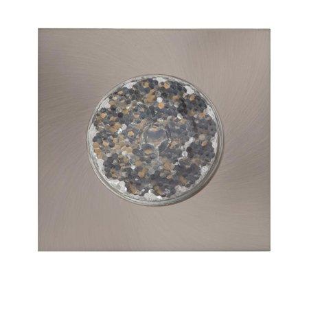 Die Fassung für Deckenspot LED SINGLE SQUARE matt Chrom Kobi