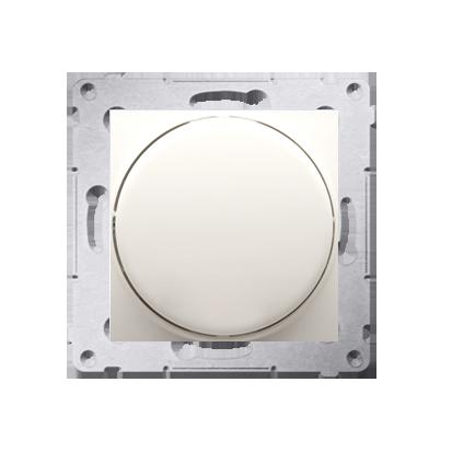 Dimmer mit Dreh-/Druckknopf cremeweiß matt Simon 54 Premium Kontakt Simon DS9T.01/41