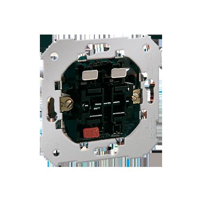 Doppel- Taster Einsatz (2 Eingänge, 2 Schließer) Kontakt Simon 82 75397-39