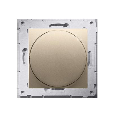 Drehpotenziometer 1- 10 V Regulierknopf mit Softrastung gold matt DS9V.01/44