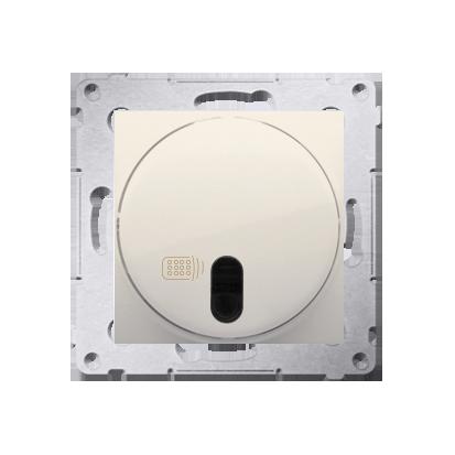 Druckdimmer (Modul) mit Fernbedienung 20- 500W cremeweiß Simon 54 Premium Kontakt Simon DS13T.01/41