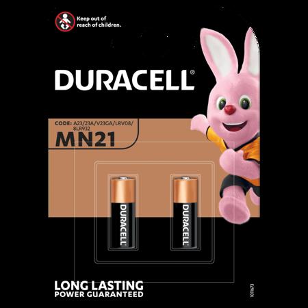 Duracell Specialty Alkaline-Batterie MN21 V23GA 12V Blister 2 Stück
