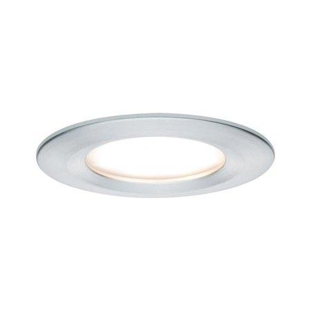 Einbauleuchte LED Set Premium EBL Coin Slim 3x6,8W 2700K 415lm Aluminium