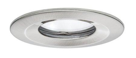 Einbauleuchte dimmbar LED Premium EBL Coin Slim 1x6,8W 2700K Eisen gebürstet
