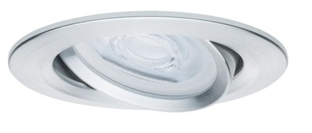 Einbauleuchte dimmbar schwenkbar LED Premium EBL Nova 7W GU10 Aluminium