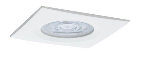 Einbauleuchte quadratisch dimmbar LED Set Premium EBL Nova 1x7W GU10 weiß IP44