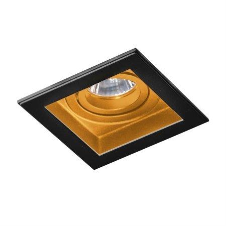 Einbaustrahler MINORKA Modern Metall, Aluminium Schwarz / Gold Azzardo AZ2802