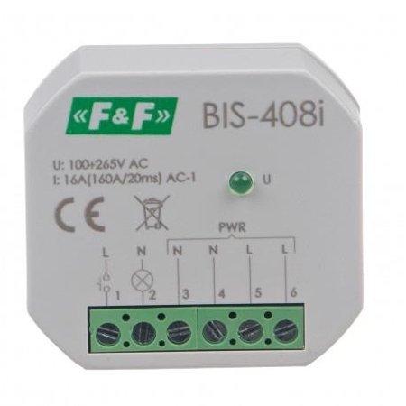 F&F BIS-408i Bistabiles Relais 230V 16A 1x NO
