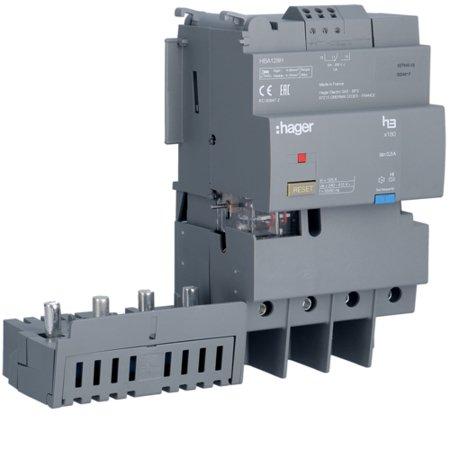 FI-Block 4polig 125A  Hager HBA128H