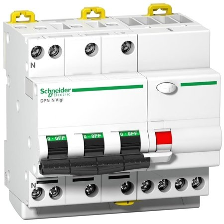 Fehlerstrom-Schutzschalter DPNNVigi-C16-30-AC C 16A 3N-polig 30 mA Typ AC