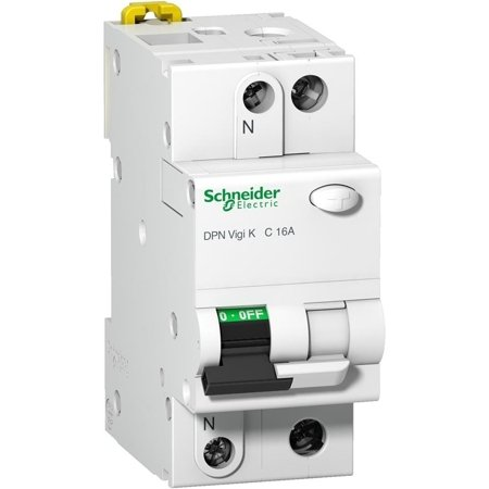 Fehlerstrom-Schutzschalter DPNVigiK-B16-30-1N-AC B 16A 1N 30 mA Typ AC