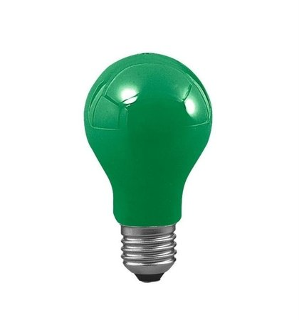 Glühbirne E27 grün 40W 7lm