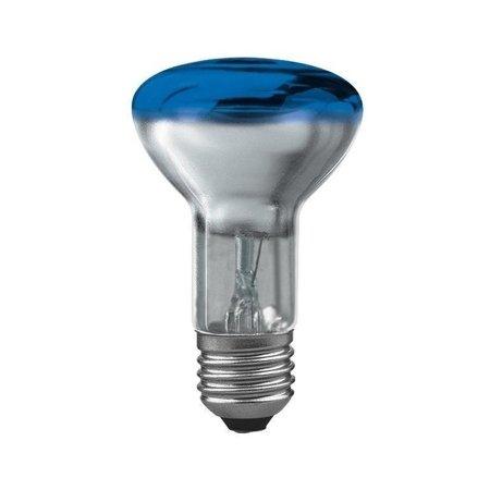 Glühbirne R63 E27 blau 40W