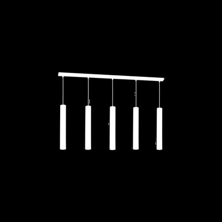 Hängelampe schwarz JOKER 5xGU10 Milagro MLP1417