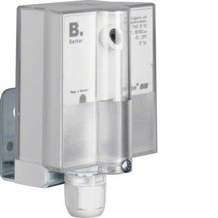 Helligkeits- und Temperatursensor Ap KNX polarweiß Hager 75492002