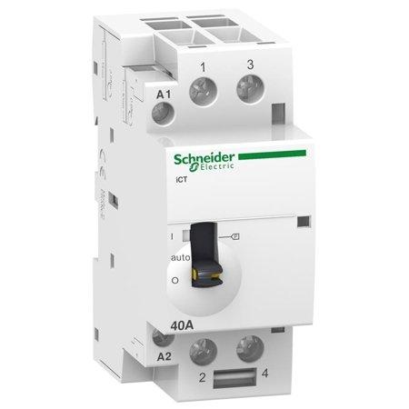 Installationsschütz iCT50r40-20-230 40A 2NO 50/60Hz 220/240 VAC
