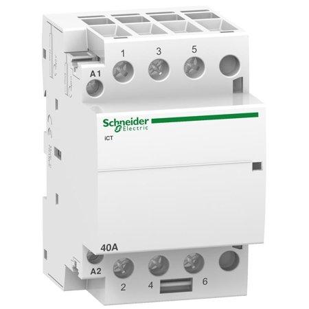 Installationsschütz iCT60-40-30-230 40A 3NO 60Hz 220/240 VAC