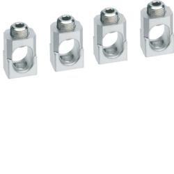 Klemmen für Baugröße h400/h630 3polig Alu/Kupfer 1x 95-240mm? Hager HYD005H