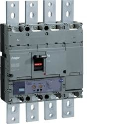 Leistungsschalter Baugröße h1000 4polig 70kA 800A LSI Hager HEE801H