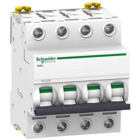 Leitungsschutzschalter iC60L-Z4-4 Z 4A 4-polig
