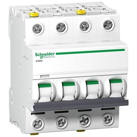 Leitungsschutzschalter iC60N-D4-4 D 4A 4-polig