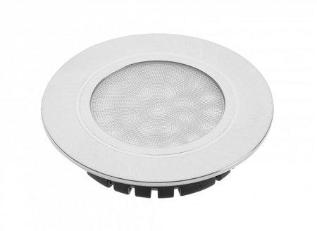 Leuchte LED Punktleuchte TreVi 230V 4W IP20/IP44 6400K kaltweiß Aluminium GTV LD-TR24ZB-53