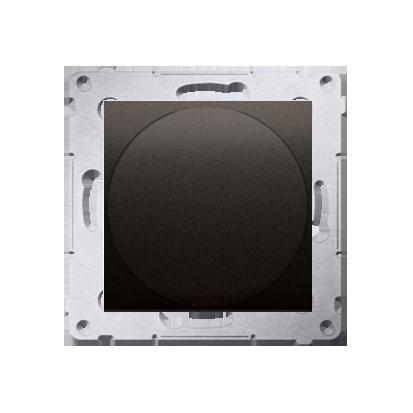 Lichtsignal weiß LED (Modul) Gehäuse braun matt Simon 54 Premium Kontakt Simon DSS1.01/46