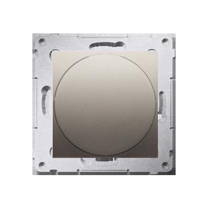 Lichtsignal weiß LED (Modul) Gehäuse gold matt Simon 54 Premium Kontakt Simon DSS1.01/44