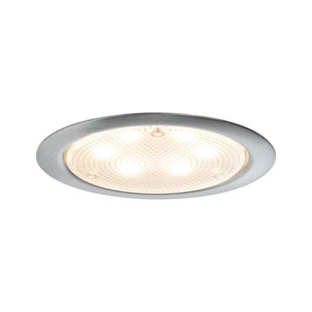 Möbel Aufbauleuchte LED PIR Rund 3x2,8W Edelstahl