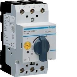 Motorschutzschalter einstellbar von 16A bis 20A 230/400V Hager MM512N