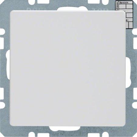 Objekt-Temperaturregler mit Tasterschnittstelle Q.1/Q.3 polarweiß samt Hager 75441229