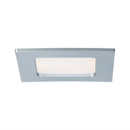Panel LED Qual quadratisch 6W 2700K Chrom IP44