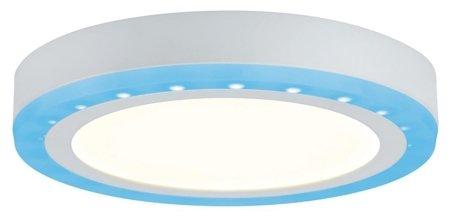 Panel LED Sol 9,4W+4,6W RGB 2700K 245mm weiß