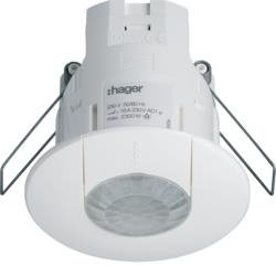 Präsenzmelder Einbau 360° DALI/DSI Hager EE816