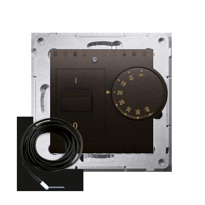 Raumtemperatur- Regler mit Innensensor (Modul) inkl. Außensensor braun matt DRT10Z.02/46