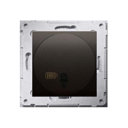 Relais-Schalter (Modul) mit Fernbedienung braun matt Simon 54 Premium Kontakt Simon DWP10P.01/46