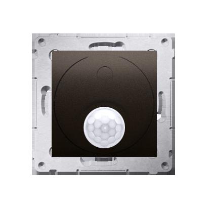 Relais- Schalter mit Bewegungssensor Verwendung im offenen Bereich 20-500W braun matt DCR11T.01/46