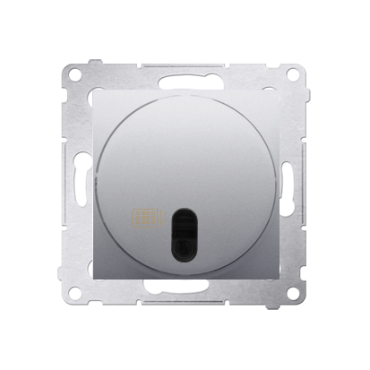 Schalter (Modul) mit Fernbedienung 20-500W silber matt Simon 54 Premium Kontakt Simon DWP10T.01/43