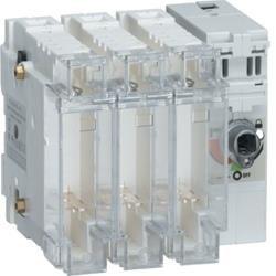 Schalter mit Sicherung 3polig 63 A / T000 Hager HFD036