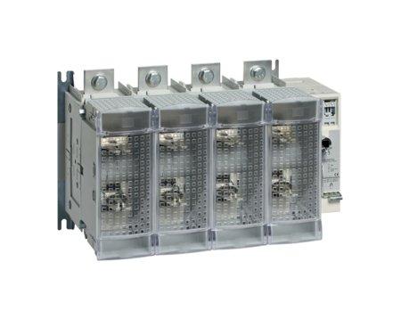 Schalter mit Sicherung 4polig 630 A/ T3 Hager HFD463