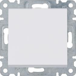 Schalter weiß 2polig Lumina Hager WL0060